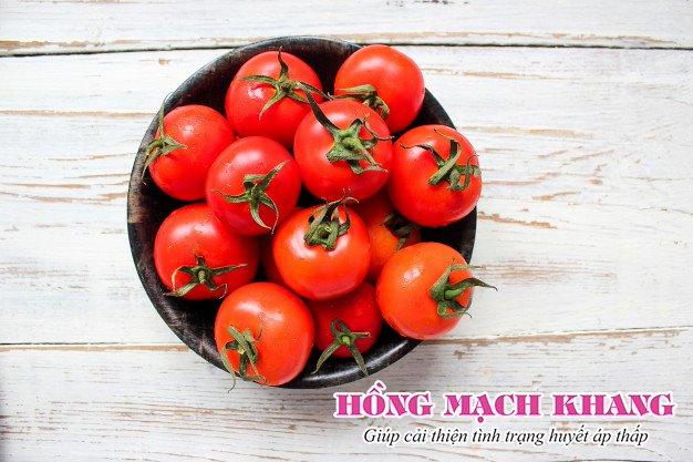 Cà chua không tốt cho người bị huyết áp thấp